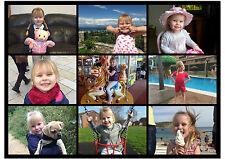 Personalizzata Collage Personalizzate Foto immagine stampa immagine Word Art famiglia mamma papà