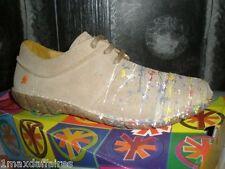 Chaussures ART W194 ASFHALT Pointure 41 44 Beige CUIR Basket NEUVE Taille Neuf
