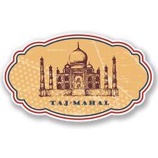 2 x Taj Mahal Adesivo Vinile Portatile da Viaggio Bagaglio #4334