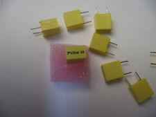 Lot de 25-Capacitor Condo Condensateur plastique MKT 0.47µF 470nF 0.47MF 63V 10%
