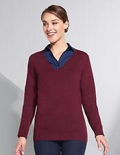 Damen Glory  Sweater / 1x1 Elasthan   SOLs