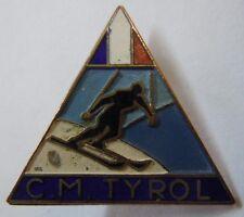 insigne Chasseurs Alpins CLUB MILITAIRE TYROL numéroté SKI MONTAGNE ORIGINAL