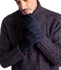 WoolOvers Homme Gants Taille Unique Pure Laine D'Agneau  Automne Hiver