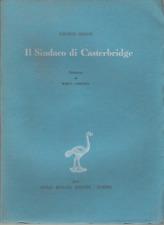 THOMAS HARDY : IL SINDACO DI CASTERBRIDGE_EINAUDI 1944