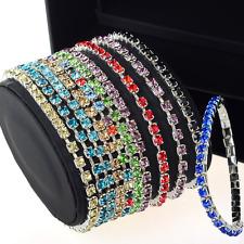 Elastico Bracciale con strass colori accessori da sposa 1 fili