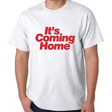 Está volviendo a casa Camiseta-Retro 1990 Copa del Mundo ingerlund tres leones de 3