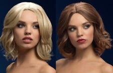 Olivia febbre parrucca da donna Deluxe termoresistente Costume Bob BIONDA O