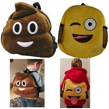 emoji backpack bag Kids  School Children Holiday Fun Novalty