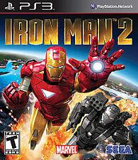 Iron Man 2 (Sony PlayStation 3, 2010) Brand New Factory Sealed (NTSC)
