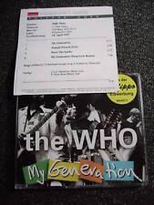 The Who-My Generation Maxi CD+Promosheet-