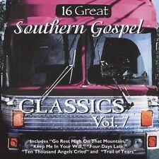 FREE US SH (int'l sh=$0-$3) NEW CD Various: 16 Great Southern Gospel Classics, V