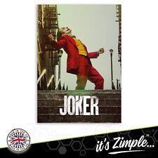 JOKER JOAQUIN PHOENIX FILM POSTER Movie Film Repro Poster Print