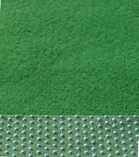Kunstrasen Rasenteppich Balkon Terrasse  mit Noppen weich 133 cm Breite grün