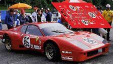 Calcas Ferrari 365 GT4 BB Le Mans 1978 86 1:32 1:43 1:24 1:18 decals