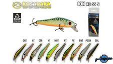 Leurre poisson nageur ION XS 55S KOSADAKA 55mm 4,1gr pêche perche truite chub