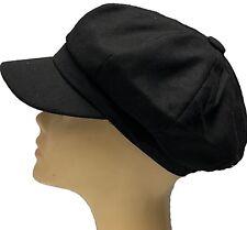 Gorras y sombreros de mujer de color principal negro de poliéster  ec4e5289a7c