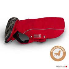 Wolters Hunde Winterjacke Amundsen für Dackel rot, diverse Größen, NEU