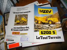 Travaux Public Camion Dumper Moxy 6200S 1984