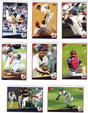 2009 Topps Cleveland Indians Team Set Sizemore Crowe Cabrera Choo Hafner Lee 24