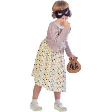 enfants voleur Mamie Déguisement journée du Livre déguisements filles 5-12 ans