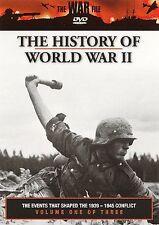 NEW DVD The History of World War II, Vol. 1~,