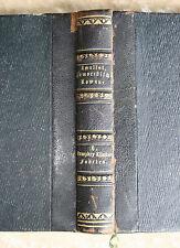 Tobias Smollet-Humphry Klinkers viaggi-Roman-in un BD. -- Pelle 1846