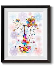 Uhomate Alice In Wonderland Alice Wonderland Quote Print Nursery Wall Decor C023