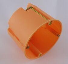 100 Stück Hohlwanddosen tief Ø 68 mm 61 mm tief orange