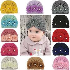 Newborn Baby Girl Cap Kids Warm Winter Cute Crochet Knitted Hat Cap Beanie
