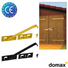 1x WBR Doppeltorüberwurf Torriegel gelb oder schwarz Schlagladenüberwurf mit CE