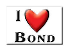 SOUVENIR USA - COLORADO GIFT FRIDGE MAGNET AMERICA I LOVE BOND (EAGLE COUNTY)