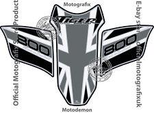Triumph Tiger 800 2010 - 2016 Motorcycle Tank Pad Motografix 3D Gel Protector