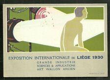 Liège Liege Exposition Woman Wallone Belgium 1930