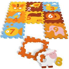 Spielmatte Fußboden EVA Schaum Puzzle Spielboden Animals oder Numbers