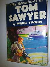 BOOK ADVENTURES OF TOM SAWYER 1922