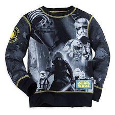 Disney Store Star Wars Long Sleeve Shirt Boy Size 7/8