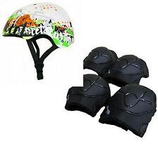 Streetsurfing Skater Helm oder Helm Set + Schützer  Größe M für Waveboard Inline