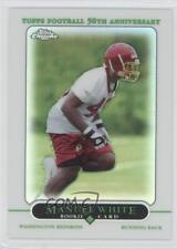 2005 Topps Chrome Refractor #265 Manuel White Washington Redskins Football Card