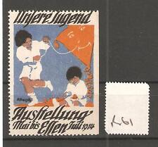 Cenicienta-R61-Alemania-unglere Jugend Austellung-Essen - 1914