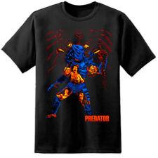 Mens Classic Hunter Predator T Shirt Aliens Nostromo Xenomorph Weyland Yutani