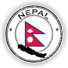 Sticker of Vietnam Stamp for Bumper Travel Laptop Tablet Suitcase Holidays