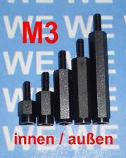 M3 8-50mm (KIA) DISTANZHÜLSEN - DISTANZBOLZEN - ABSTANDSHALTER - ABSTANDSHÜLSEN