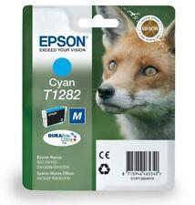 T1282 Cyan Epson Original Printer Ink Cartridge Fox Series Ink C13T12854012