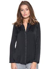 Tigha Tapa de las señoras camiseta blusa Molly Negro