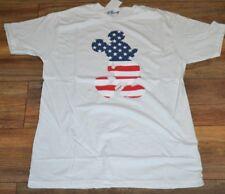 Disney Topolino Rosso Bianco Blu Bandiera Americana Licenza Ufficiale