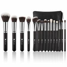 Ducare Makeup Brushes 15 Piece Makeup Brushes Set Premium Synthetic Goat Hairs K