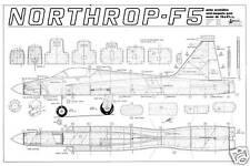 MODELHOB NORTHROP F5 Semi Escala STUNT Modelo controline