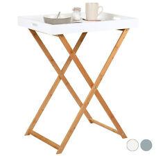 Hartleys Folding Butlers Table Portable Serving Tray Drinks/Dinner/Breakfast