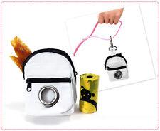 Luxury Pet Hygiene- Designer Dog Pooper Picnic Bags w/ Waste Refill Dispenser