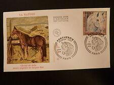 FRANCE PREMIER JOUR FDC YVERT 1982 LE CHEVAL PERCHERON  1,70F  PARIS 1978